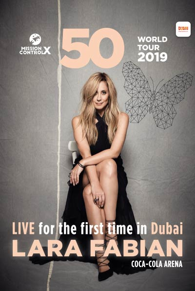 Lara Fabian Live in Dubai - For the First Time!