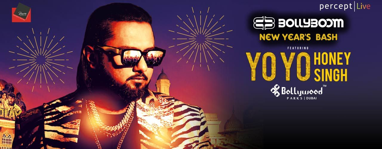 BollyBoom NYE with YO YO Honey Singh