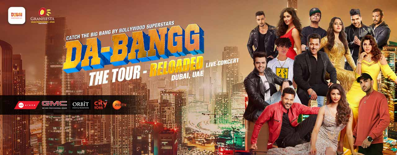 Dabangg: The Tour Reloaded 2019