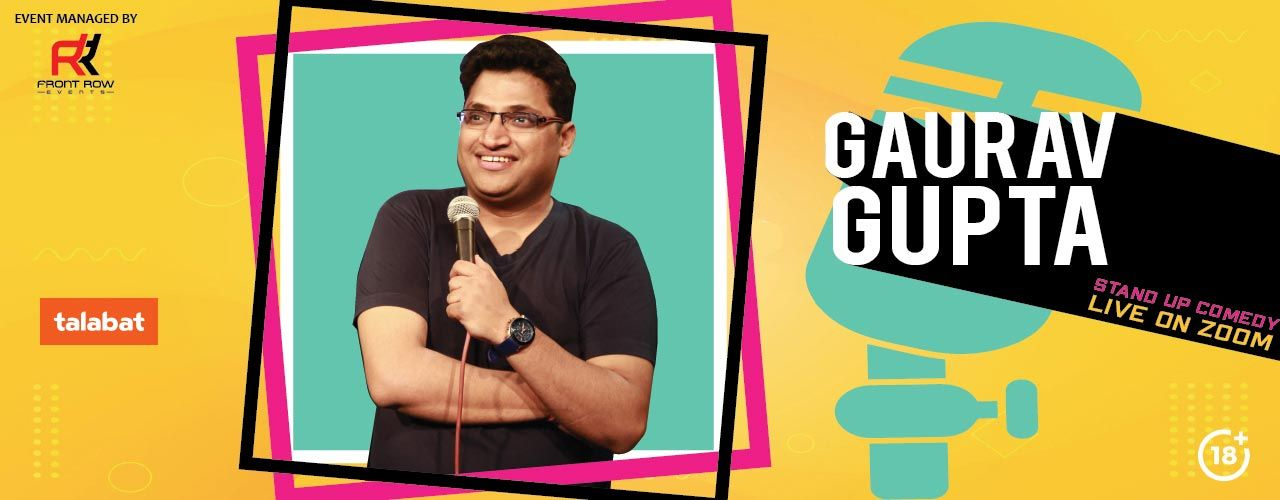 Gaurav Gupta - Stand Up Comedy Live On Zoom