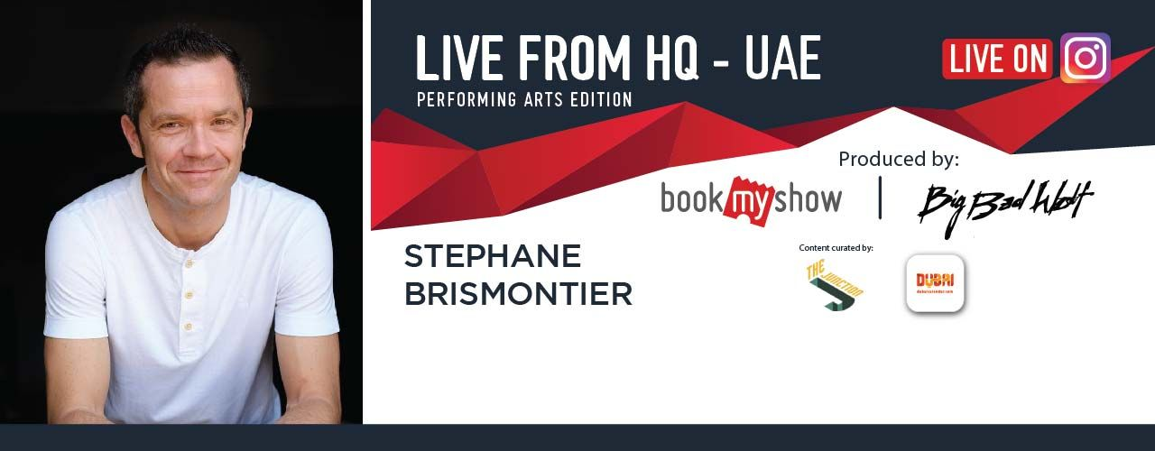 Live from HQ featuring Stephane Brismontier