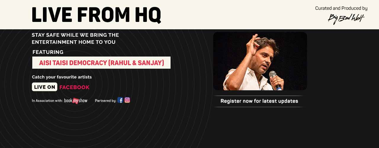 Live from HQ feat. Rahul Ram & Sanjay Rajoura(ATD)