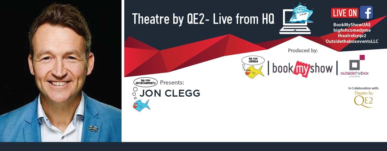 Theatre by QE2 Live From HQ: Jon Clegg