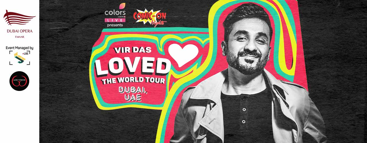 Vir Das - The Loved Tour by Colors Live & ComicOn